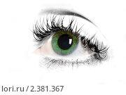 Глаз. Стоковое фото, фотограф юлия юрочка / Фотобанк Лори