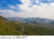 Купить «Летний горный пейзаж Черногории», фото № 2383471, снято 14 сентября 2010 г. (c) Сергей Яковлев / Фотобанк Лори