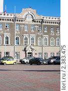 Купить «Здание администрации города (мэрии) Саратов», эксклюзивное фото № 2383475, снято 31 октября 2008 г. (c) Татьяна Белова / Фотобанк Лори