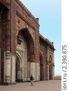 Купить «Архитектура Индии, Дели», фото № 2390875, снято 8 декабря 2009 г. (c) Вера Тропынина / Фотобанк Лори