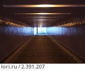 Подземный переход. Стоковое фото, фотограф Олег Резчиков / Фотобанк Лори