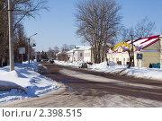 Купить «Город Старица. Тверская область», фото № 2398515, снято 7 марта 2011 г. (c) Сергей Лаврентьев / Фотобанк Лори