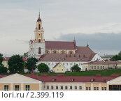 Костел Обретения Святого креста в Гродно (2010 год). Стоковое фото, фотограф Голованова Елена / Фотобанк Лори