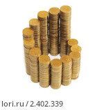 Купить «Монеты», эксклюзивное фото № 2402339, снято 12 марта 2011 г. (c) Юрий Морозов / Фотобанк Лори