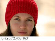 Весенний портрет девушки. Стоковое фото, фотограф Сергей Русаков / Фотобанк Лори