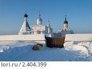 Ферапонтово. Ферапонтов монастырь (2011 год). Стоковое фото, фотограф Валерий Пчелинцев / Фотобанк Лори