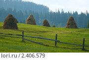 Гуцульский пейзаж. Стоковое фото, фотограф Евгений Волкотруб / Фотобанк Лори