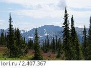 Горный пейзаж (2009 год). Редакционное фото, фотограф Юрий Караваев / Фотобанк Лори