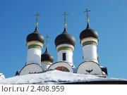Купить «Москва. Церковь Покрова Пресвятой Богородицы в Братцево», эксклюзивное фото № 2408959, снято 9 марта 2011 г. (c) lana1501 / Фотобанк Лори