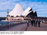 Сиднейский оперный театр (2010 год). Редакционное фото, фотограф Elena Monakhova / Фотобанк Лори