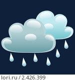 Купить «Ночью облачно и небольшой дождь», иллюстрация № 2426399 (c) Анастасия Некрасова / Фотобанк Лори