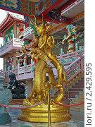 Купить «Скульптура.  Китайский храм. Таиланд», эксклюзивное фото № 2429595, снято 17 января 2011 г. (c) Валентина Качалова / Фотобанк Лори