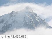 Массив Монблан в тумане (2011 год). Стоковое фото, фотограф Anna Abramovich / Фотобанк Лори
