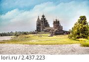 Купить «Кижи», фото № 2437223, снято 9 августа 2008 г. (c) Parmenov Pavel / Фотобанк Лори