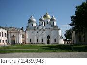 Софийский собор, Великий Новгород (2010 год). Стоковое фото, фотограф I Pod / Фотобанк Лори