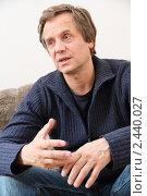 Купить «Актёр Андрей Соколов», фото № 2440027, снято 31 марта 2011 г. (c) Александр Черемнов / Фотобанк Лори