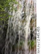 Купить «Лермонтовский водопад на реке Ольховка, Кисловодск, Северный Кавказ, Россия», фото № 2445455, снято 24 июня 2010 г. (c) Сычёва Виктория / Фотобанк Лори