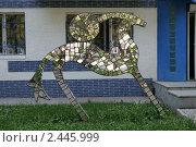 Купить «Городская скульптура», фото № 2445999, снято 25 июня 2008 г. (c) Михаил Валеев / Фотобанк Лори