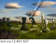 Купить «Ход конём», иллюстрация № 2451927 (c) Никонор Дифотин / Фотобанк Лори