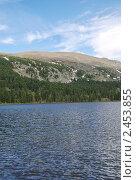 Каракольские озера (одно из шести) (2010 год). Редакционное фото, фотограф Юрий Караваев / Фотобанк Лори