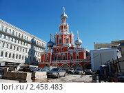 Купить «Храм Знамения иконы Божией Матери на Шереметьевом дворе. Москва», эксклюзивное фото № 2458483, снято 4 апреля 2010 г. (c) lana1501 / Фотобанк Лори