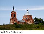 Церковь в деревне Никола-Ленивец, фото № 2465951, снято 24 июля 2010 г. (c) Андрей Ерофеев / Фотобанк Лори