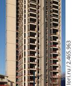 Купить «Реконструкция многоэтажного здания», фото № 2465963, снято 29 ноября 2010 г. (c) Андрей Ерофеев / Фотобанк Лори
