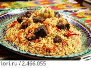Купить «Восточная кухня, плов», фото № 2466055, снято 18 марта 2011 г. (c) Александр Черемнов / Фотобанк Лори