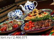 Купить «Восточная кухня», фото № 2466071, снято 18 марта 2011 г. (c) Александр Черемнов / Фотобанк Лори