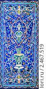 Купить «Традиционный орнамент в мечети», фото № 2467519, снято 16 июля 2010 г. (c) Алексей Сергеев / Фотобанк Лори