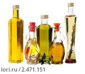 Различные виды оливкового масла в бутылках. Стоковое фото, фотограф Marina Appel / Фотобанк Лори