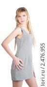 Купить «Девушка с длинными светлыми волосами», фото № 2476955, снято 7 марта 2011 г. (c) Черников Роман / Фотобанк Лори