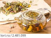 Купить «Лечебный травяной сбор», эксклюзивное фото № 2481099, снято 9 апреля 2011 г. (c) Давид Мзареулян / Фотобанк Лори