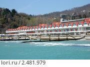 Купить «Хоста, пансионат у моря», эксклюзивное фото № 2481979, снято 14 апреля 2011 г. (c) Анна Мартынова / Фотобанк Лори