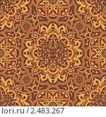 Купить «Стильный арабский орнамент», иллюстрация № 2483267 (c) Дмитрий Кутлаев / Фотобанк Лори