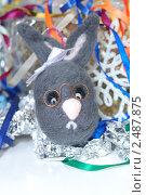 Валяная игрушка - заяц. Стоковое фото, фотограф Заварзина Мария / Фотобанк Лори