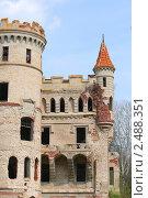 Купить «Усадьба Замок Храповицкого в Муромцево», фото № 2488351, снято 19 августа 2018 г. (c) Corwin / Фотобанк Лори