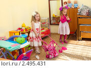 Купить «Группа в детском саду. Игровая зона для девочек», фото № 2495431, снято 4 марта 2011 г. (c) Типляшина Евгения / Фотобанк Лори