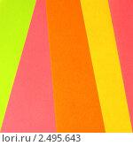 Фон из лоскутков разноцветной бумаги. Стоковое фото, фотограф Чуев Максим / Фотобанк Лори