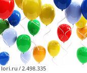 Купить «Воздушные шары», иллюстрация № 2498335 (c) Юдин Владимир / Фотобанк Лори
