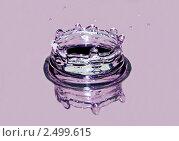 Купить «Всплеск воды крупным планом», фото № 2499615, снято 17 сентября 2019 г. (c) Ласточкин Евгений / Фотобанк Лори