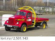 Эстонский грузовик на трассе (2011 год). Редакционное фото, фотограф Дмитрий Лебедик / Фотобанк Лори