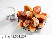 Домашние пирожки. Стоковое фото, фотограф Виктор Шилин / Фотобанк Лори