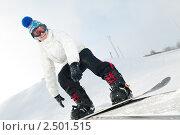 Купить «Сноубордист», фото № 2501515, снято 22 октября 2018 г. (c) Дмитрий Калиновский / Фотобанк Лори
