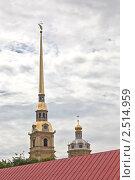 Петропавловская крепость (2010 год). Стоковое фото, фотограф Евгений Медведев / Фотобанк Лори