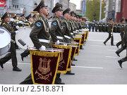 Подготовка к военному параду в центре Новосибирска. Редакционное фото, фотограф Энди / Фотобанк Лори