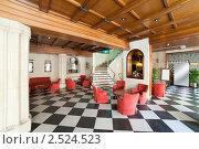 Купить «Интерьер отеля», фото № 2524523, снято 8 апреля 2011 г. (c) Яков Филимонов / Фотобанк Лори