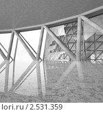 Купить «Интерьер в офисном здании», иллюстрация № 2531359 (c) Юрий Бельмесов / Фотобанк Лори