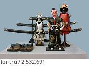 Купить «Оружие и одежда самурая», фото № 2532691, снято 15 мая 2011 г. (c) Владимир Макеев / Фотобанк Лори