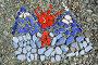 Мозаика из цветных камешков, фото № 2536191, снято 13 июня 2010 г. (c) А. А. Пирагис / Фотобанк Лори